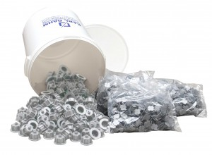 Fliesen Nivelliersystem: Maxi-Set grau 1 mm, Art.-Nr. 12503